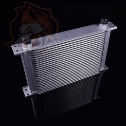 Универсальный масляный радиатор 25 рядов AN10 (маслокулер)