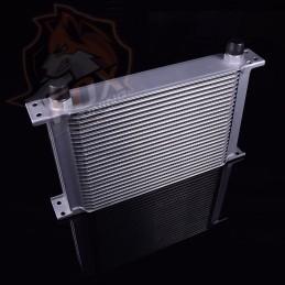 Универсальный масляный радиатор 30 рядов AN10 (маслокулер)