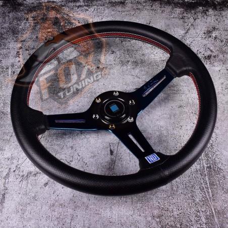 Спортивный руль Nardi Competition Titan из перфорированной кожи 70 mm
