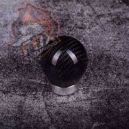 Универсальная ручка кпп сarbon (шар с юбкой)