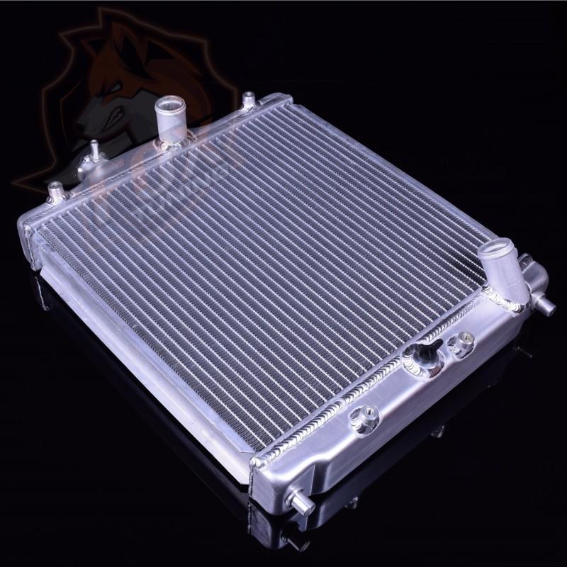 Алюминиевый радиатор FT для Honda Civic 28 мм (3х рядный)