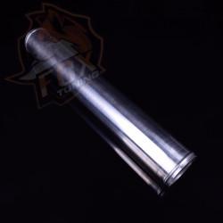 """Алюминиевый прямой патрубок/пайпинг 2.5"""" (63 mm)"""