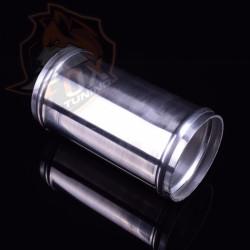"""Алюминиевый прямой патрубок/пайпинг 2.5"""" (63 mm) L 120 mm"""