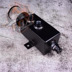 Алюминиевый маслоуловитель картерных газов с фильтром FT